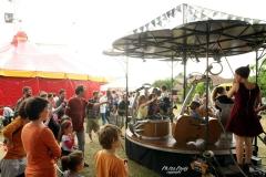 Le Cacophonium au Festival Chapitoscope 2015, à Créon (33)